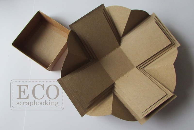 Exploding box plus - kraft